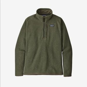 Olive green better sweater